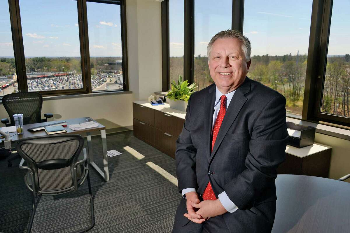 UHY office managing partner Howard Foote in their new offices at 4 Tower Place Wednesday April 27, 2016 in Albany, NY. (John Carl D'Annibale / Times Union)