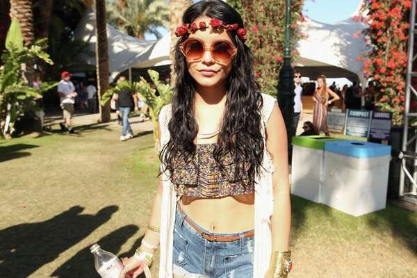 Coachella is a music festival in California that is known for it's chill bohemian vibes and unique fashion. Here's a look at some of the outfits people wore this year.