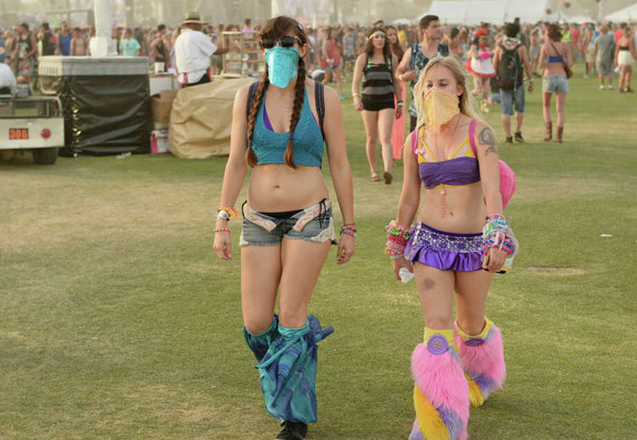 Coachella is back! Click through to see some of the fashion from previous years. Photo: Photo By Matt Cowan/Getty Images, 2014 Getty Images / 2014 Getty Images