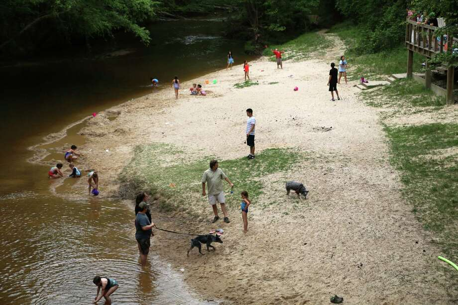 Visitors enjoy Lake Houston Wilderness Park. Nearly 30 percent of Montgomery County residents don't live within a mile of a park.  / Houston Chronicle