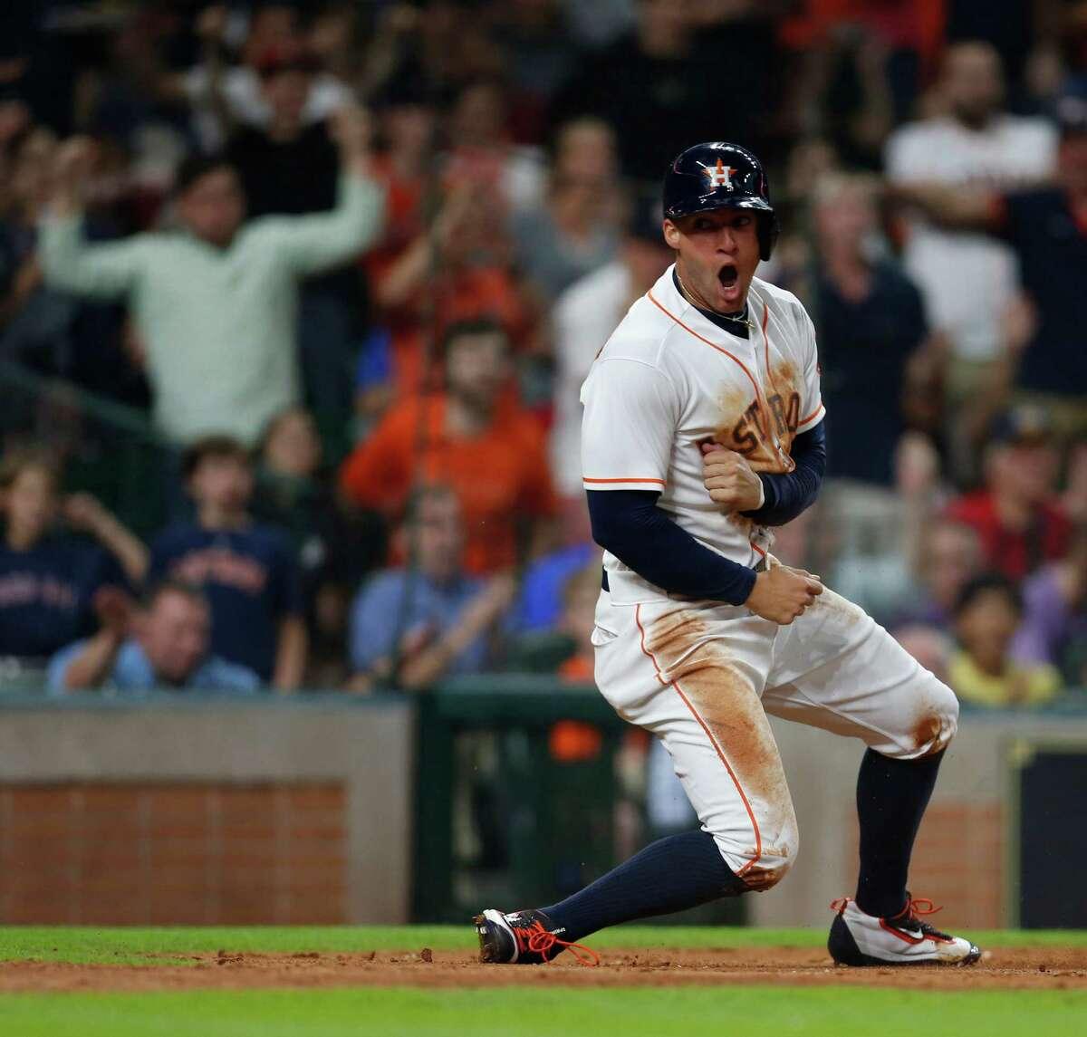 Houston Astros rightfielder George Springer.