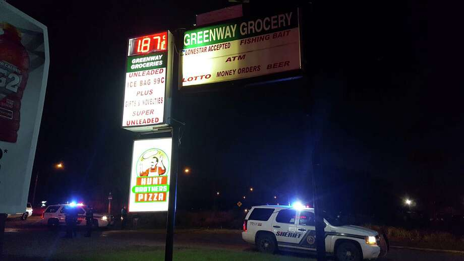 Two were confirmed dead at a shooting at this small grocery on U.S. 181 Monday night in South Bexar County. Photo: /