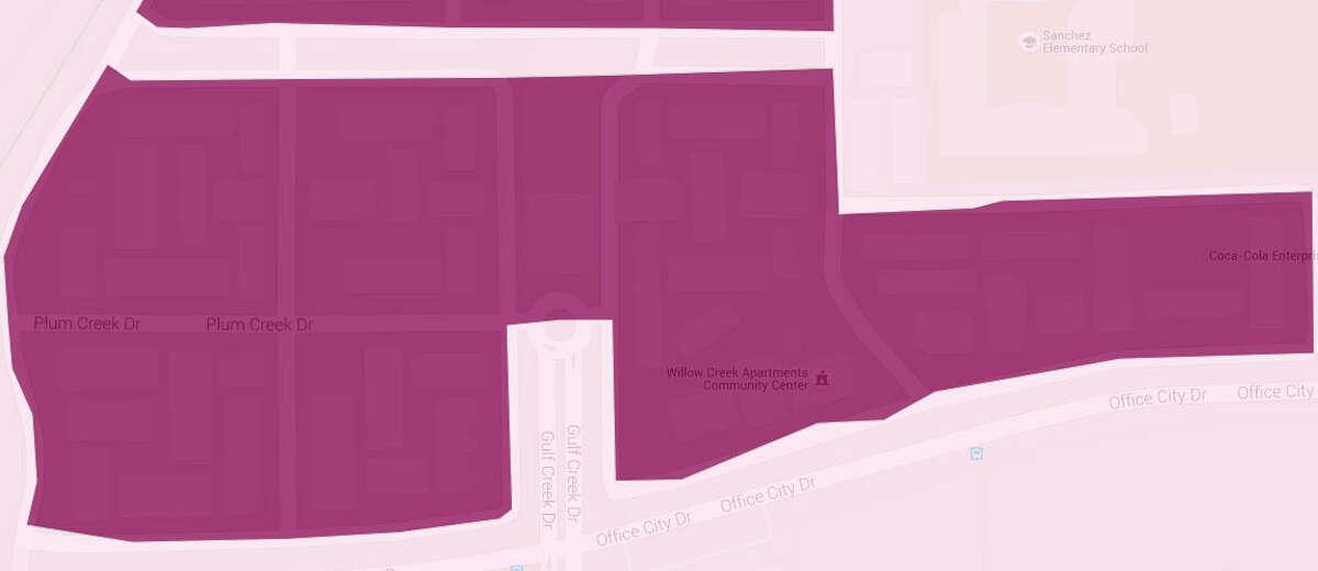 Census block group no.: 482013116002 Priority index: 100