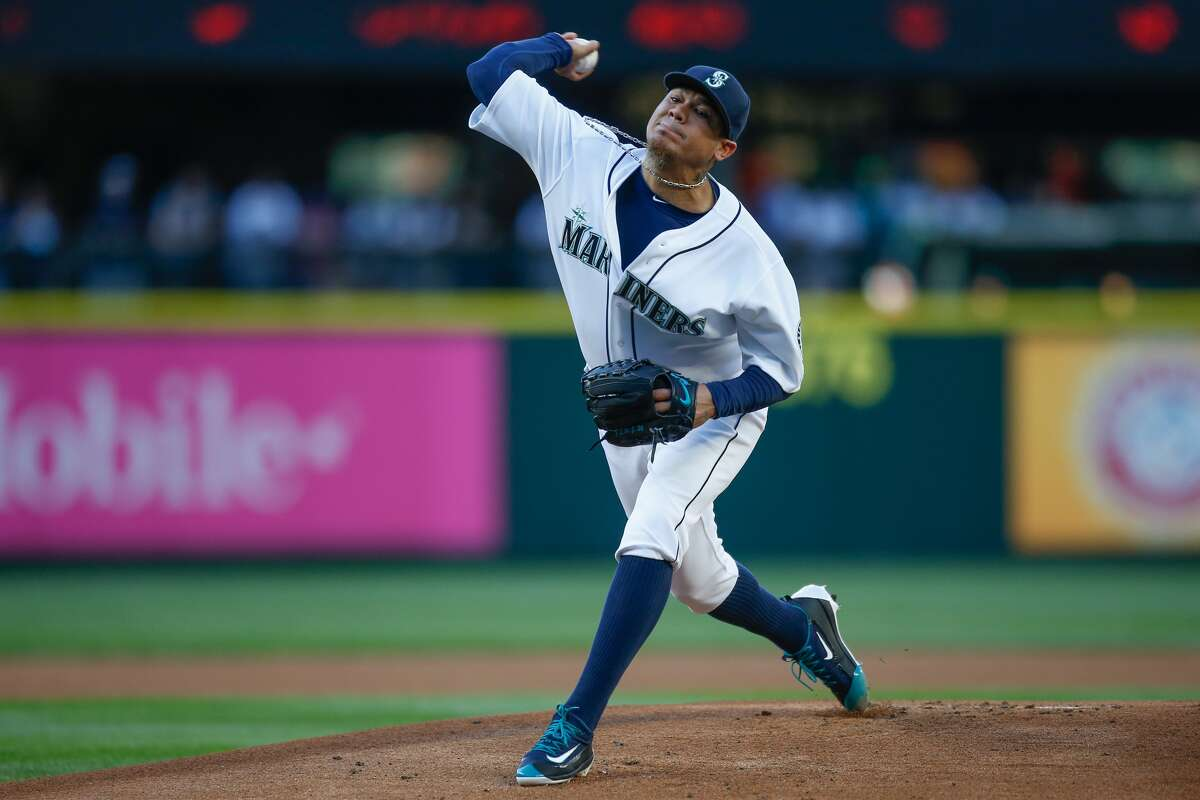 1. RHP Felix Hernandez W-L with the Mariners: 146-103