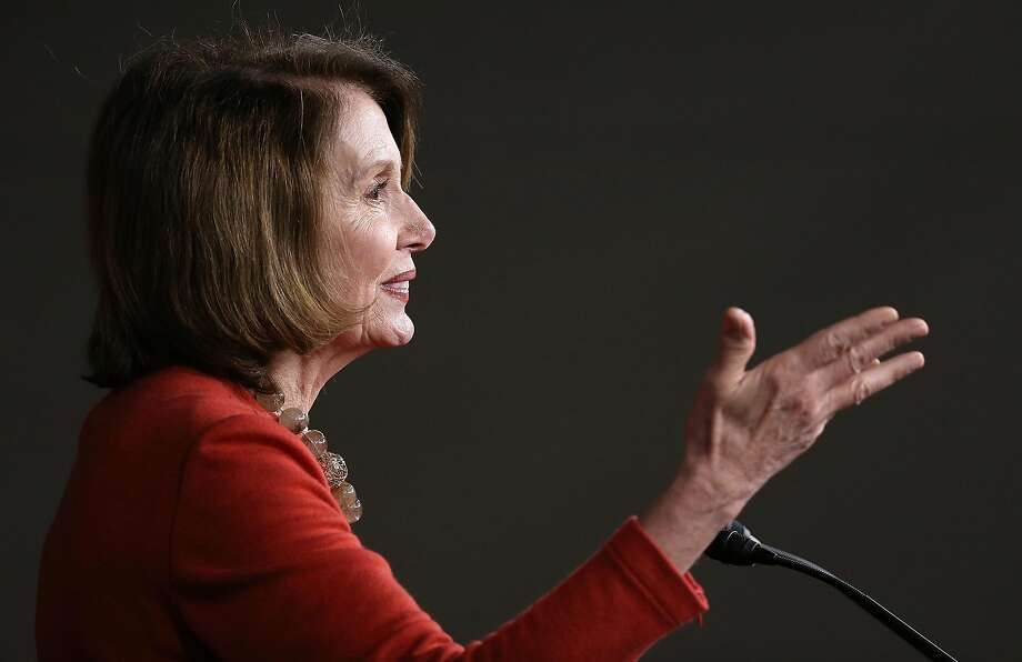 Rep. Nancy Pelosi has not made an endorsement for president. Photo: Win McNamee, Getty Images