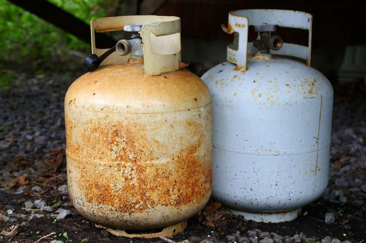 If you are living in areas prone to flooding, make sure to secure anything outside. Grills and spare propane tanks are items of note to secure in place.