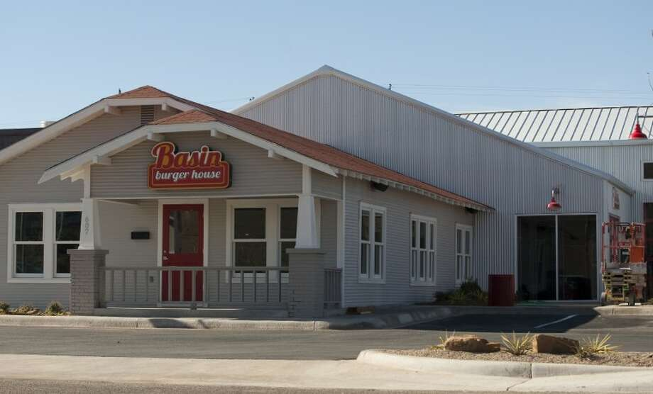 Work continues on Basin Burger House to get it ready for opening. Tim Fischer\Reporter-Telegram Photo: Tim Fischer