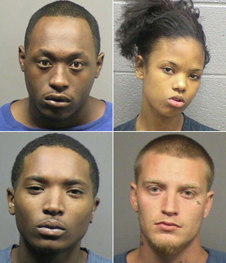 (Clockwise from top left) Reginald Omar Anders, 21; Ashton Patrice Brazell, 17; Grant Fowler, 18; and Edwin Ledell Smith, 20, are accused in the alleged murder of Torvorian Carter.