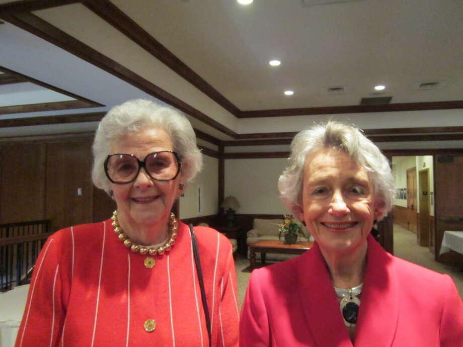 Carolyn Roden, left, Emily Goodfellow.