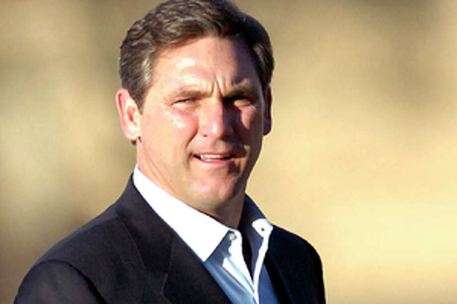 FILE - In this March 13, 2011, file photo, college football analyst Craig James is seen in Lubbock, Texas. James, who starred as a tailback at Southern Methodist University and with the New England Patriots in the 1980s, announced Monday, Dec. 19, 2011 he was running for the U.S. Senate as a Republican from Texas, a GOP fundraiser said. James would be running for the 2012 Senate seat being vacated by retiring Republican Kay Bailey Hutchison. (AP Photo/Geoffrey McAllister, File) Photo: Geoffrey McAllister / FR166798 AP