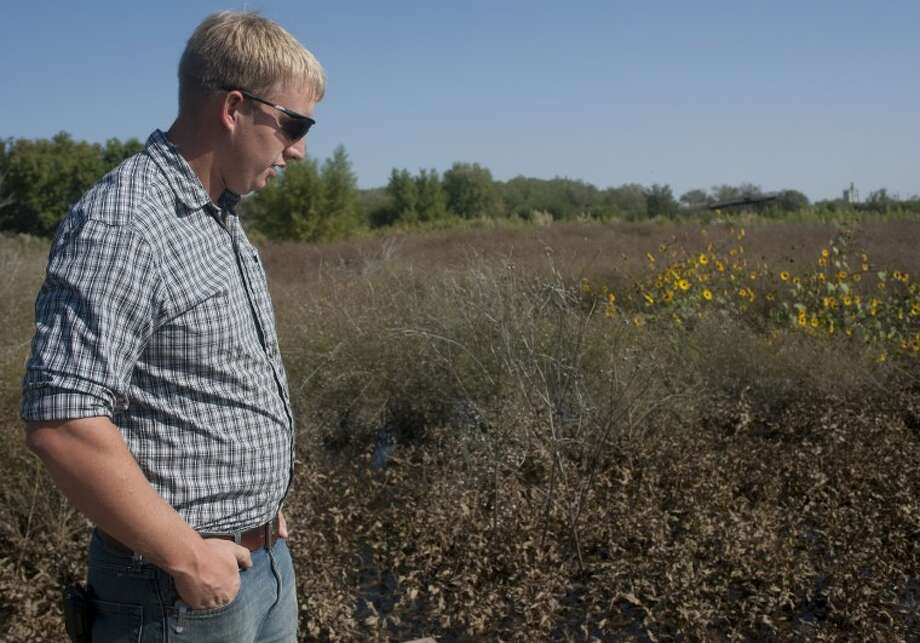 Nathan Knowles, executive director of the I-20 Wildlife Preserve and land manager, talks about the preserve and the work that has been done to get it ready for it's opening in late November. Tim Fischer\Reporter-Telegram Photo: Tim Fischer