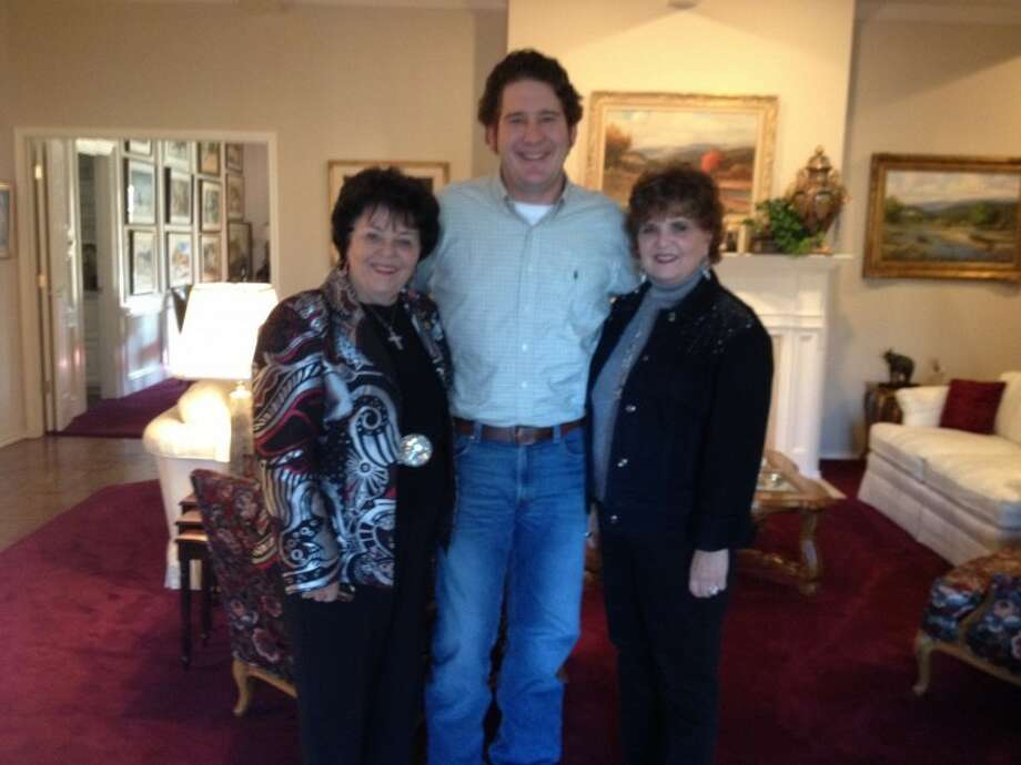 Juandelle Lacy Roberts, J. Ross Lacy and Rhonda Lacy are seen in this courtesy photo.