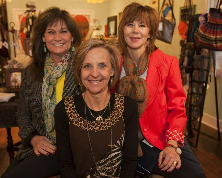 Willow business owners, Paula Cannon, Debbie Burke and Diana Barker. Tim Fischer\Reporter-Telegram Photo: Tim Fischer