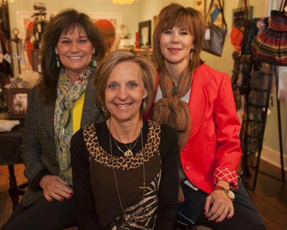 Willow business owners, Paula Cannon, Debbie Burke and Diana Barker. Tim Fischer\Reporter-Telegram Photo: Tim Fischer