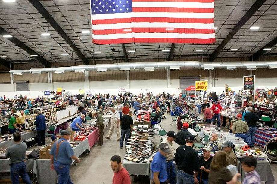 FILE - As many as 3000 people interested in guns, knives, ammo, and accessories visited the 2010 Silver Spur Gun and Blade Show at the Midland County Horseshoe.  Photo: Cindeka Nealy/Reporter-Telegram