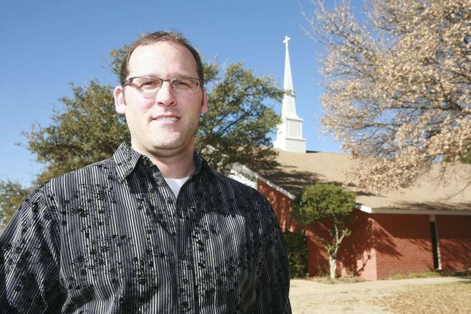 Brandon Navarre is the new pastor at Christian Church of Midland. Cindeka Nealy/Reporter-Telegram Photo: Cindeka Nealy