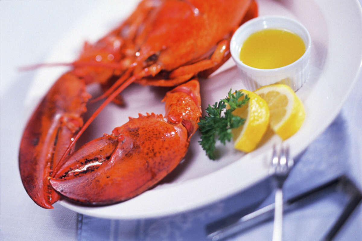 FILE-- Red Lobster debuted lobster and waffles as part of their latest menu item for Lobsterfest.