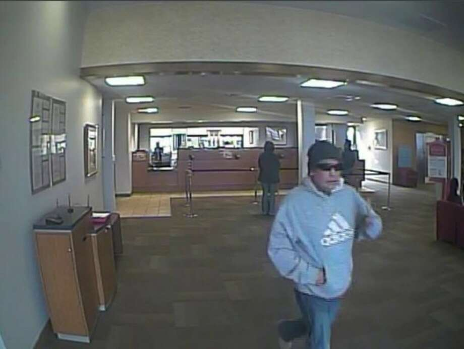 Midland police are searching for the man suspected in the robbery of Bank of America, 4309 Garfield St., Thursday afternoon.