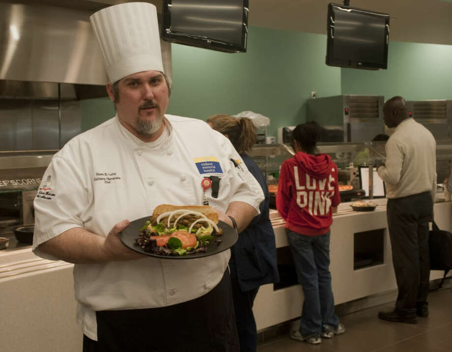 Chef Shawn Cooley is in charge of the food services for Midland Memorial Hospital. Tim Fischer\Reporter-Telegram Photo: Tim Fischer
