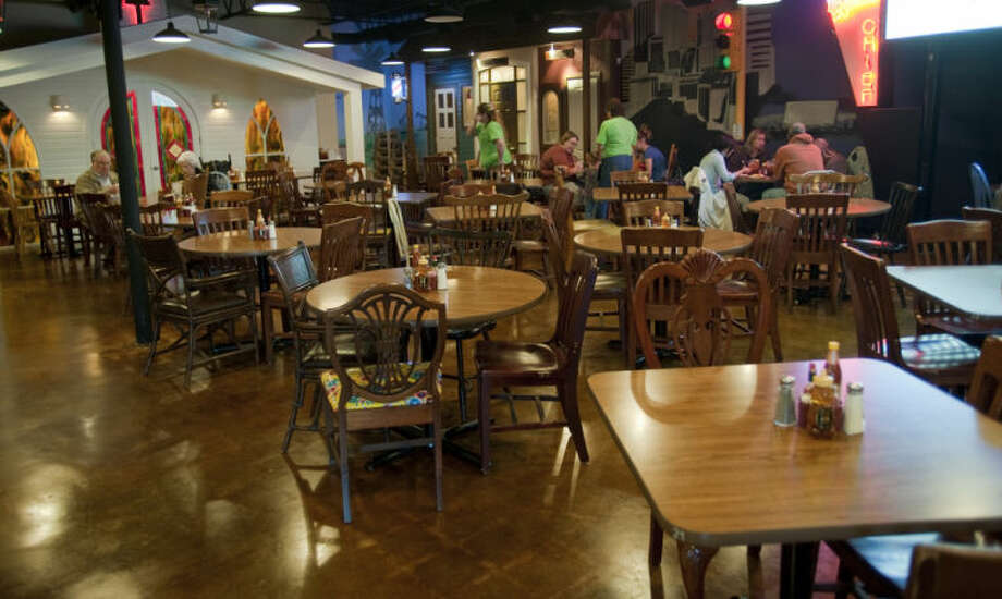 Back in the Day Cafe is decorated like 1940's Midland, inside the old Michael's Grill on Illinois. Tim Fischer\Reporter-Telegram Photo: Tim Fischer