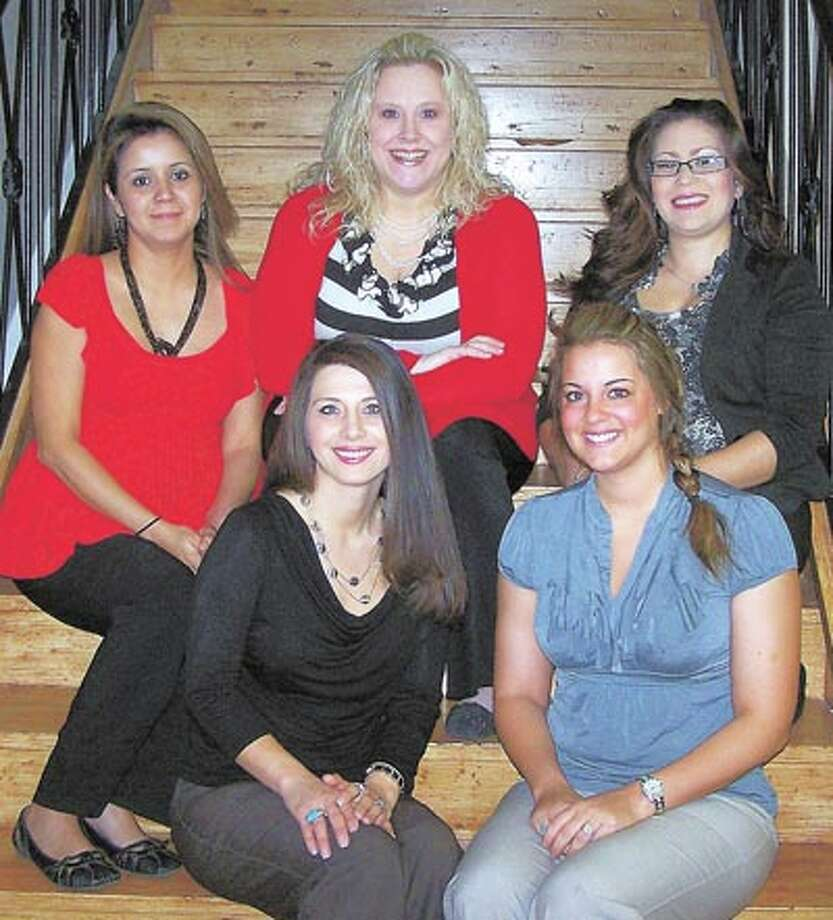For personal service with your insurance, call (from left, back row): Rita Rodriguez, Lara Sandlin, Melissa Vasquez, or (front row) Tanessa Wilson or Kayli Baker at 687-1820.