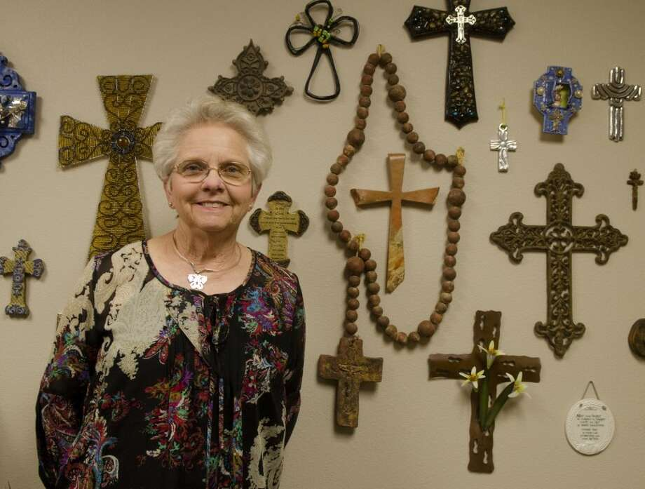Carol Ann Hunt received special honors from the Pope for her work with St. Ann's Catholic Church. Photo by Tim Fischer/Midland Reporter-Telegram Photo: Tim Fischer