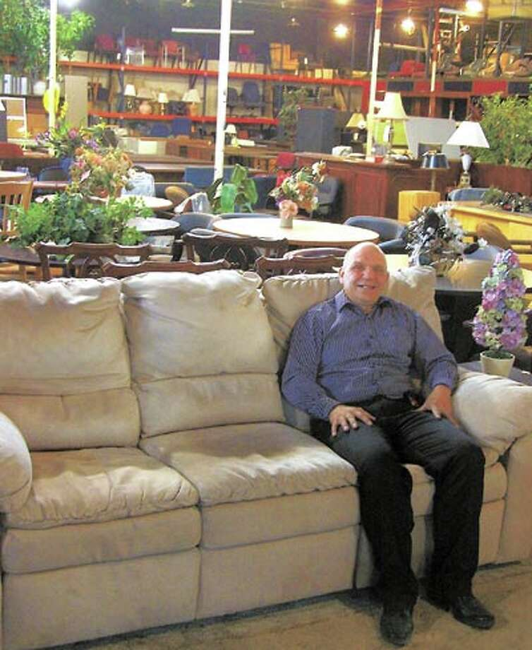 Steve Ausmus at A-1 Office Furniture invites you to blow in and get the lion's share of savings on new furniture, now through the end of March. A-1 is in the big yellow building on Industrial and Marienfeld.