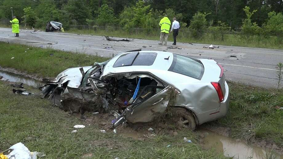 2 dead in head-on crash in Montgomery County - Houston Chronicle
