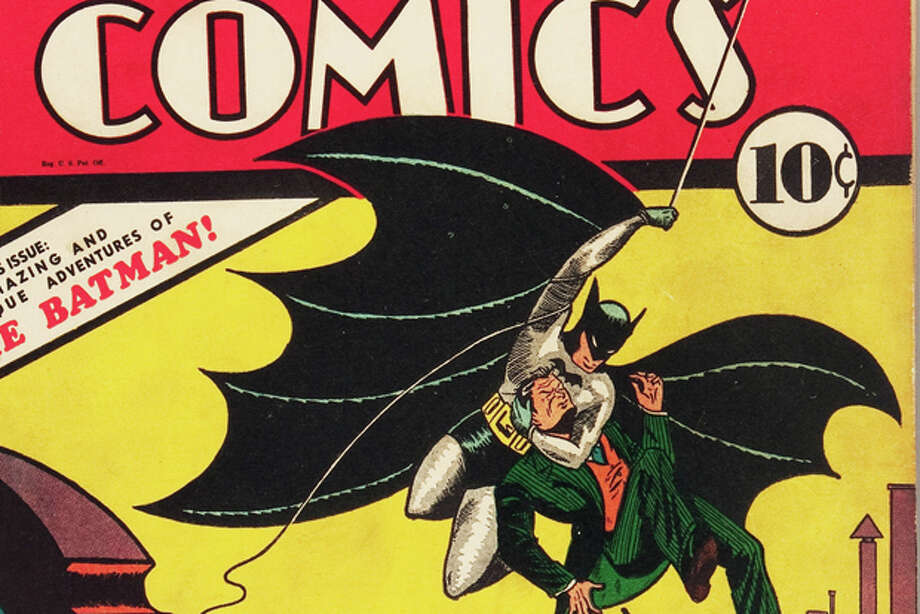 This Feb. 13, 2012 handout photo provided by Heritage Auction , shows the CGC-Certified 6.5 copy of Detective Comics #27 from the Billy Wright Collection at Heritage Auctions in Dallas,Texas. On Wednesday, the collection is expected to bring more than $2 million when Heritage Auctions offers the comics at auction in New York City. (AP Photo/Courtesy of Heritage Auctions) Photo: HONS / Heritage Auctions