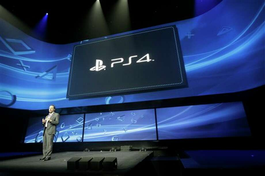 Andrew House speaks at an event to announce the Sony Playstation 4 Wednesday, Feb. 20, 2013, in New York. (AP Photo/Frank Franklin II) Photo: Frank Franklin II / AP2013