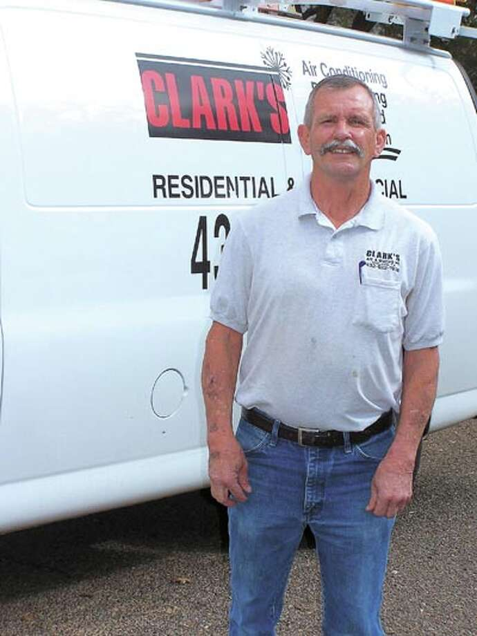 For over a quarter of a century Rex Clark of Clark's Air Conditioning has been helping Midlanders keep their cool. Call him at 522-1938 to check your system now and make sure it's ready for summer.