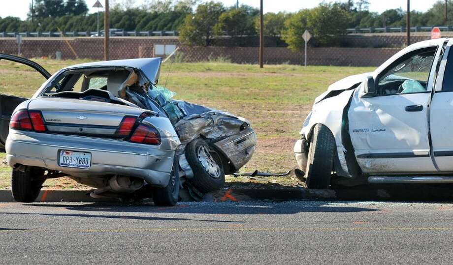 (File Photo) A two-car fatal vehicle accident took place Saturday at Lamesa and the Loop 250. The driver of the sedan was killed at least four passengers in the truck were transported to Midland Memorial Hospital. James Durbin/Reporter-Telegram Photo: JAMES DURBIN
