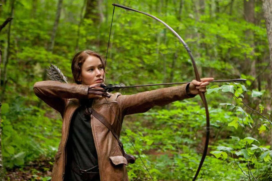 "Jennifer Lawrence in ""The Hunger Games."" Photo: Lionsgate"
