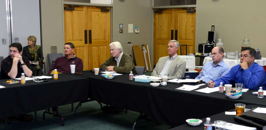 (File Photo) City officials met at the Junior League of Midland Wednesday. James Durbin/Reporter-Telegram Photo: JAMES DURBIN