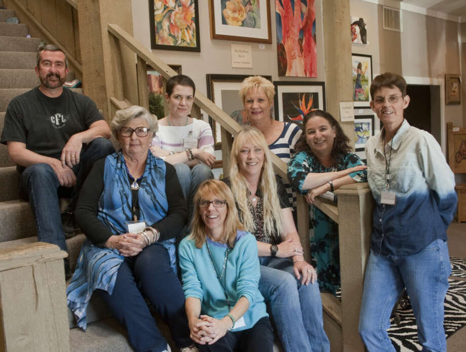 Some of the artists with work at Artizen Outlet, Wayne Stratton, Sara Drescher Braswell, Jo Turner, Mary Beth Barton, Nina Noel, Carol Ramirez, Beth Meyerson and Cheryl Roush. Tim Fischer\Reporter-Telegram Photo: Tim Fischer