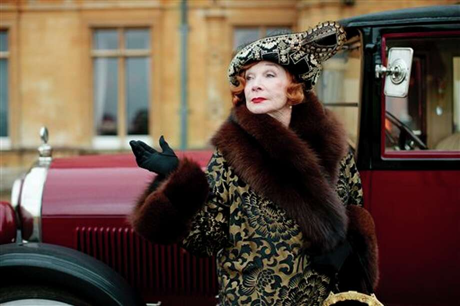 "This undated publicity photo provided by PBS shows Shirley MacLaine as Martha Levinson from the TV series, ""Downton Abbey."" Carnival Films and MASTERPIECE on PBS today announced that six new cast names are joining the series plus the return of Shirley MacLaine for next season's finale. The Hollywood star, who reprises her role as Martha Levinson, proved a huge hit with viewers last year. (AP Photo/PBS, Carnival Film & Television Limited 2012 for MASTERPIECE, Nick Briggs) Photo: Nick Briggs / PBS"