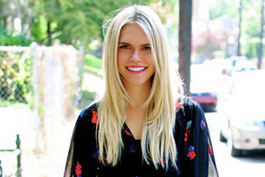 Lauren Scruggs modeling fashions for streetsofsparkle.com. Photo: Courtesy Streets Of Sparkle