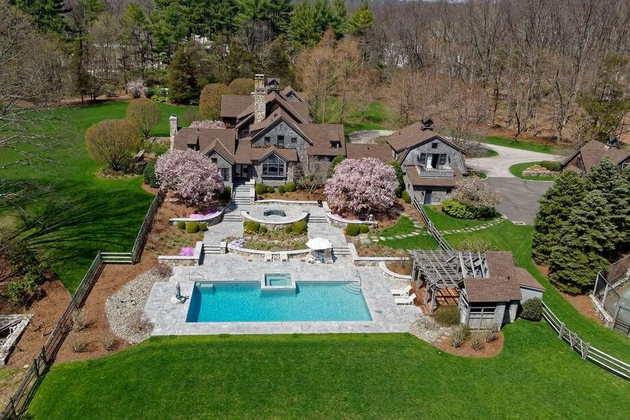 Edgar M. Bronfman Sr. estate  279 North Ave, Westport, CT 06880 6 beds 11 baths 9,353 sqft Asking price:$7,995,000View full listing on Zillow Photo: Zillow