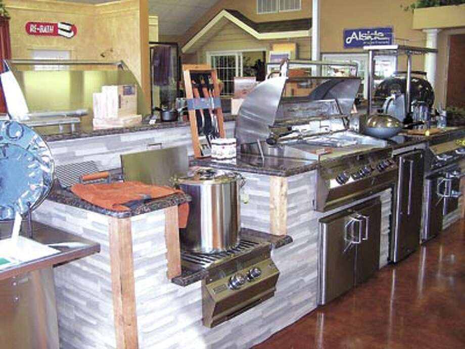 American Home Improvement can help you get cooking this season with top-of-the-line grills and accessories for your outdoor kitchen. See them at the cornerof Highway 191 and FM 1788.