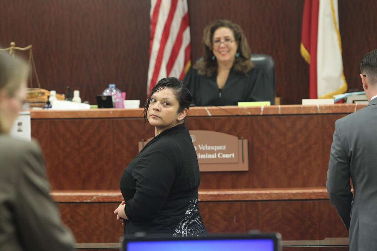 Melissa Martinez in court on May 10, 2016.