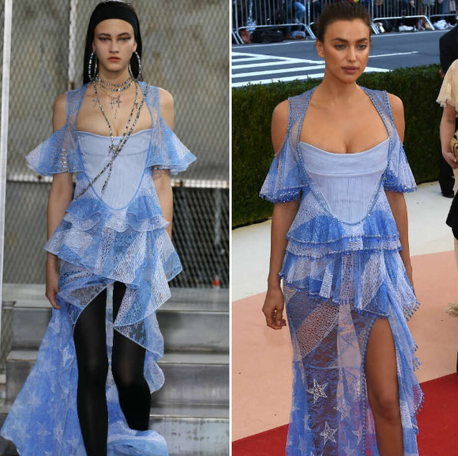 Runway to red carpet wins and losses.  Photo: Getty Composite