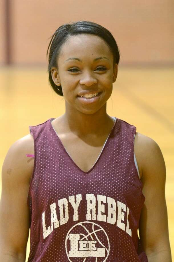 Lee High varsity girls basketball mug shot of Shay Ray James Durbin/Reporter-Telegram Photo: JAMES DURBIN