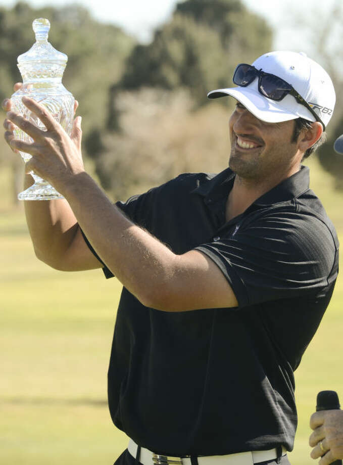 Alex Aragon, winner of the 2013 Western National Bank Golf Classic at Midland Country Club. Tim Fischer\Reporter-Telegram Photo: Tim Fischer
