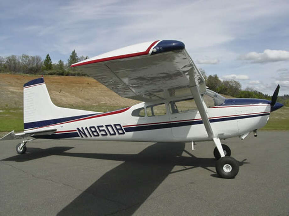 This Cessna 185 Skywagon is the same model owned by Midlander Kyle Richardson. The plane crashed in Utah on Wednesday, killing Richardson; his father, Wade Richardson, of Crockett County, and pilot, Larry Newby, of Price, Utah. Photo: Courtesy Cessna