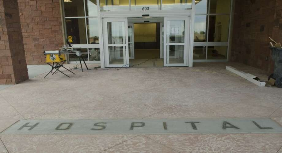 Work continues on the new Martin County Hospital in Stanton. Photo by Tim Fischer/Midland Reporter-Telegram Photo: Tim Fischer