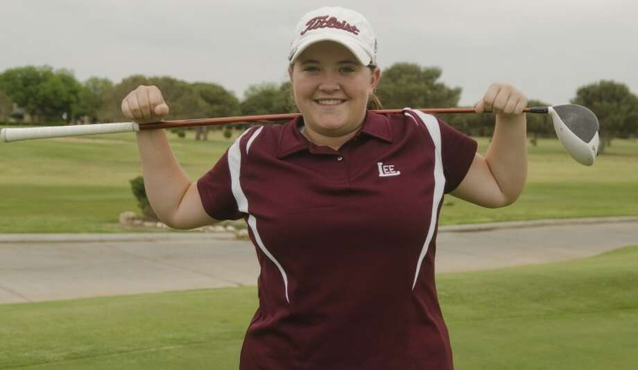 Lee High's Libby Thomas will be making her first appearance in the UIL State Golf Tournament. Photo by Tim Fischer/Midland Reporter-Telegram Photo: Tim Fischer
