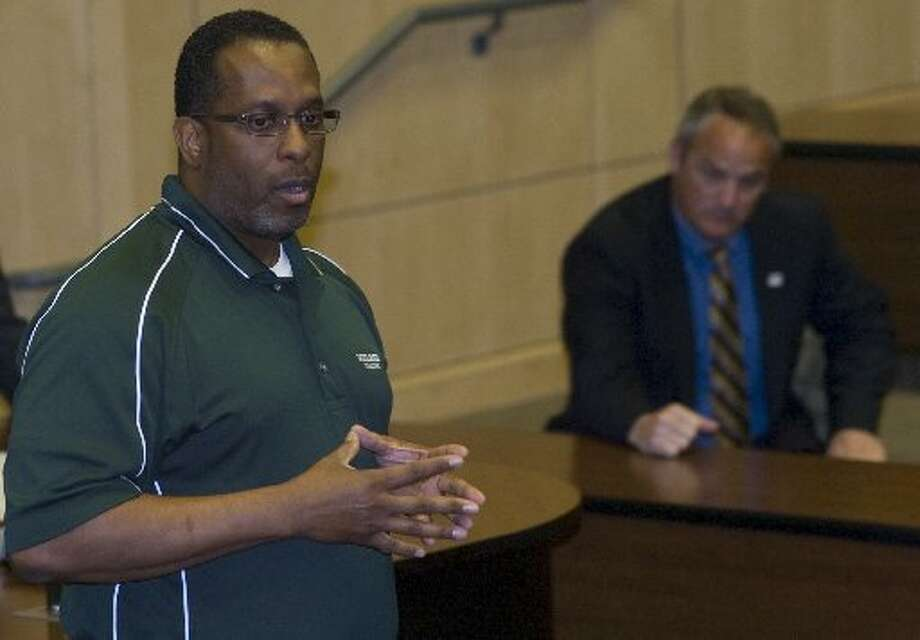 Midland College Athletic Director Forrest Allen, seen here in a file photo from 2011, said the college is moving forward on its search to find a new coach at Chris Craig's sudden resignation this past week.MRT File Photo