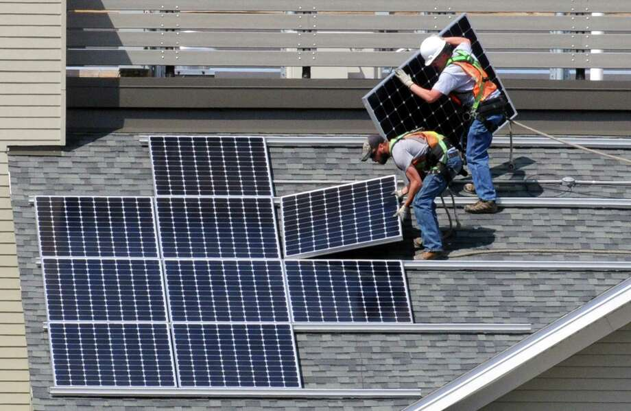 The Housing Development Fund is holding a May 12, 2016 forum in Stamford, Conn. to help apartment owners tap $5 million in funding from the MacArthur Foundation for clean energy projects. (Michael P. Farrell/Times Union) Photo: Michael P. Farrell / Albany Times Union / 00031556A