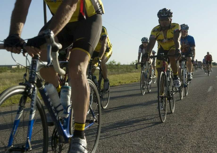 Area riders will come together Wednesday evening to join thousands of riders across the country in the annual Ride of Silence to honor and remember fellow riders who have died in accidents. Photo: Tim Fischer/Reporter-Telegram