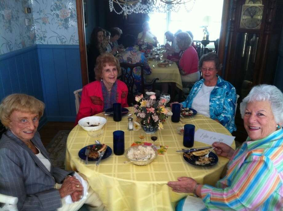 Midland Opera Guild: Natalie Lake, from left, Edith Libson Hardy, Peggy Jones and Sue Solari.